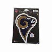 Los Angeles Rams Die Cut Logo Magnet