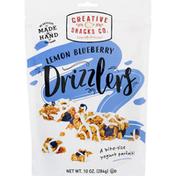 Creative Snacks Co. Drizzlers, Lemon Blueberry