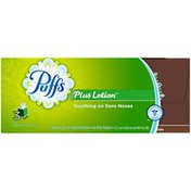 Puffs Plus Lotion White  Facial Tissues