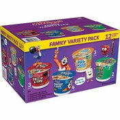 Kellogg's Breakfast Cereal Cups, Cereal Cup to Go, Family Variety Pack