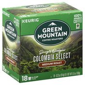Green Mountain Coffee, Medium Roast, Single Origin Colombian Select, K-Cup Pods