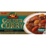 S&b Sauce Mix, Golden Curry, Medium Hot