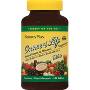 Nature's Plus Multi-Vitamin & Mineral Supplement, Tablets