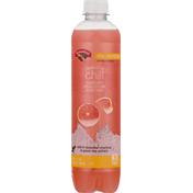 Hannaford Sparkling Water Beverage, Pink Grapefruit, Sparkling Chill