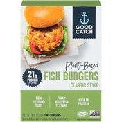 Good Catch Plant-Based Classic Style Fish Burgers