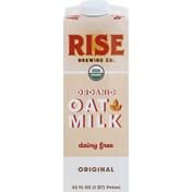 Rise Brewing Co. Oat Milk, Organic, Dairy Free, Original