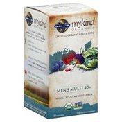 Garden of Life Multivitamin, Whole Food, Men's Multi 40+, Vegan Tablets