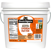 Once Again Cashew Butter, Creamy, Natural, Unsweetened