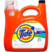 Tide Ultra Concentrated Liquid Laundry Detergent with Bleach, Original