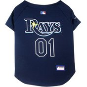 Pet First Extra Extra Large MLB Tampa Bay Rays Dog Jersey