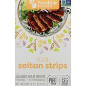 Franklin Farms Seitan Strips, Vegan