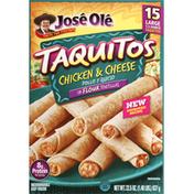 Jose Ole Chicken & Cheese Flour Tortillas Taquitos