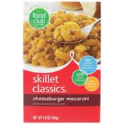 Food Club Skillet Classics, Cheeseburger Macaroni And Cheddar Cheese Sauce Mix