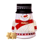 Walkers Shortbread Snowman Tin with Festive Shortbread Stars