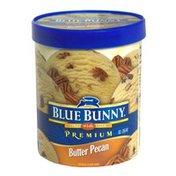 Blue Bunny Premium Ice Cream, Butter Pecan