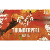 Flying Dog Beer, Hazy IPA, Thunderpeel