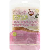 Bela Mineral Bath Soak, Pink Himalayan + Skin Health