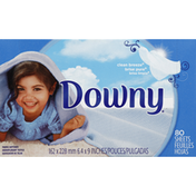 Downy Fabric Softener, Sheets, Clean Breeze