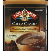 Land O Lakes Hot Cocoa Mix, Chocolate Supreme