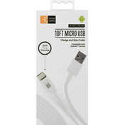 Case Logic Charge and Sync Cable, Micro USB, Extra Length, 10 Feet