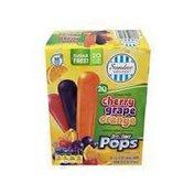 Sundae Shoppe No Sugar Added Junior Pops Frozen Dessert