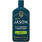 JĀSÖN Men's Calming Dandruff Relief 2-in-1 Shampoo + Conditioner