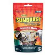 Higgins Sunburst Fruits To Nuts Gourmet Treats For Conures Parrots & Macaws