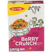Valu Time Berry Crunch Sweetened Multi-grain Cereal