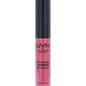 NYX Professional Makeup Lip Cream, Metallic, Soft Matte, Milan SMMLC10
