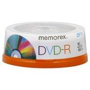 Memorex DVD-R, 16X, 4.7 GB, 120 Min
