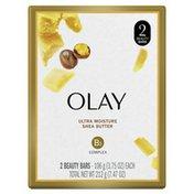 OLAY Bar Soap With Vitamin E And Vitamin B3 Complex Beauty Bars
