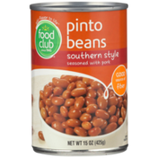 Food Club Southern Style Pinto Beans Seasoned With Pork