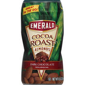 Emerald Supplements Almonds, Cocoa Roast, Dark Chocolate