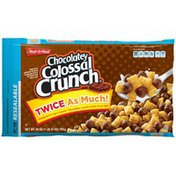 Malt-O-Meal Chocolatey Colossal Crunch Sweetened with Real Cocoa Corn & Oat Cereal