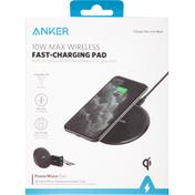 Anker Fast-Charging Pad, Wireless, Max, 10 Watts