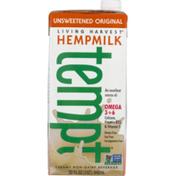 Living Harvest Hempmilk Tempt Unsweetened Original