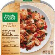 Healthy Choice Cafe Steamer Ravioli And Chicken Marinara