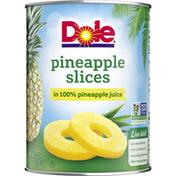 Dole Pineapple, Slices, in 100% Pineapple Juice