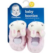 Gerber Baby Booties, 0-6 Months