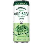 Chameleon COLD-BREW Organic Cafe Latte Whole Milk Latte