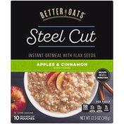 Better Oats Steel Cut Apples & Cinnamon