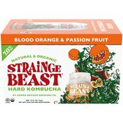 Strainge Beast Blood Orange & Passion Fruit Hard Kombucha Beer