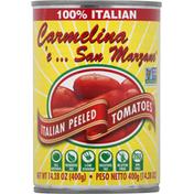 Carmelina e San Marzano Tomato, Italian, Peeled