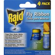Raid Fly Ribbon, 4 Pack