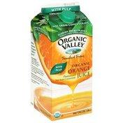 Organic Valley Organic Orange Juice, with Pulp