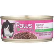 Paws Happy Life Salmon Dinner Classic Cat Food