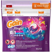 Gain Flings! 4-in-1 Scent Duet Wildflower & Waterfall Pacs Laundry Detergent
