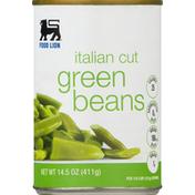 Food Lion Green Beans, Italian Cut