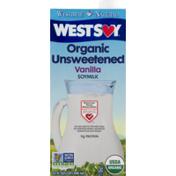 Westbrae Natural Westsoy Organic Unsweetened Soymilk Vanilla