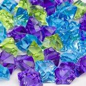 Petco Chrome Blue Mix Jewel Gravel Accents
